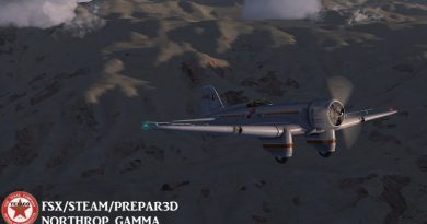 ICARUSGOLD NORTHROP GAMMA FOR FSX AND STEAM
